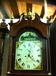 A Oak & Mahogany 8 Day Grandfather Clock J Taylor W-Hampton.£2,500