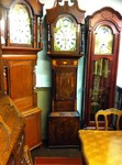 A 8 Day Inlaid Mahogany Grandfather Clock Nantwich.£1,250