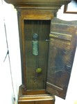 A Brass Face 30 Hour Grandfather Clock Oak &Mahogany John Roderts Wrexham.£1,800