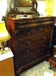 Victorian Mahogany Large Chest of Drawers £525